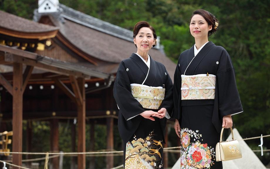 既婚女性の第一礼装、黒留袖の知識