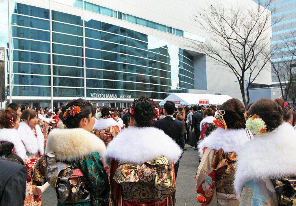 横浜市の成人式_会場周辺