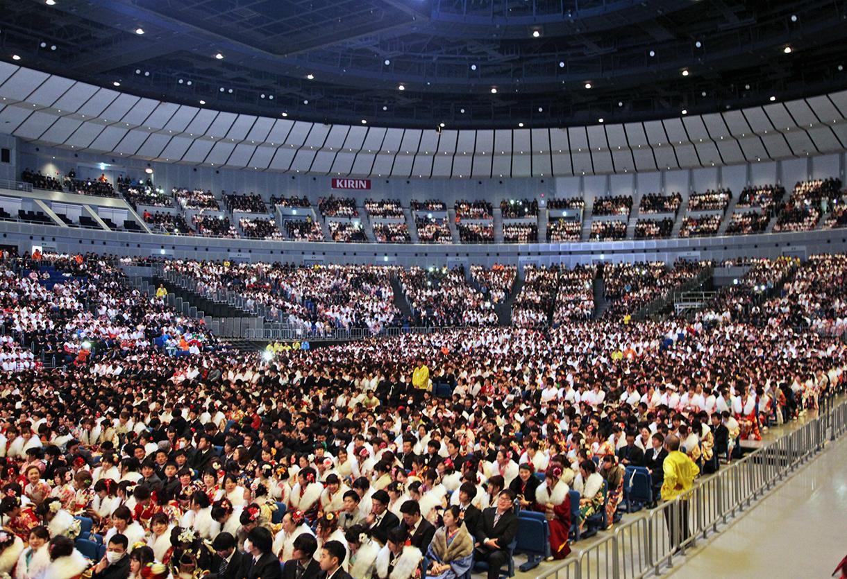 横浜市の成人式ってどんな感じなの?式典の規模、内容、様子を知りたい!