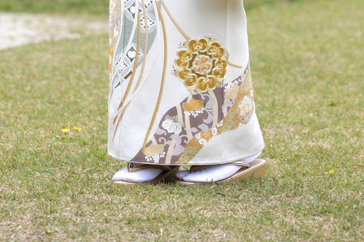 礼装用の白足袋