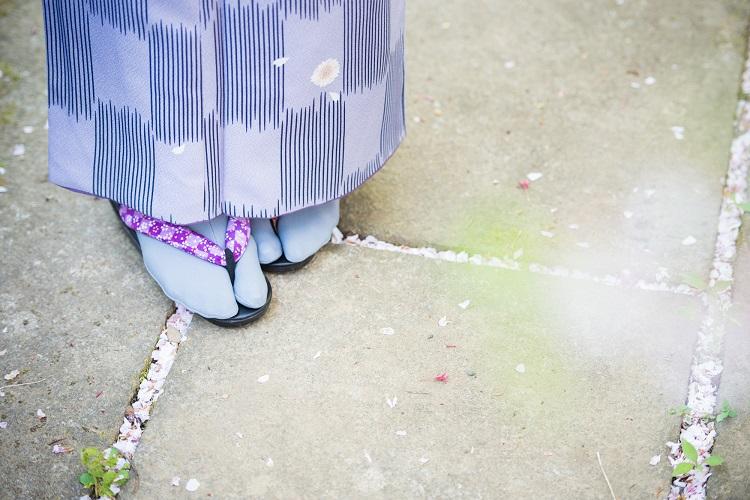 足袋の種類と特徴、着物との合わせ方について