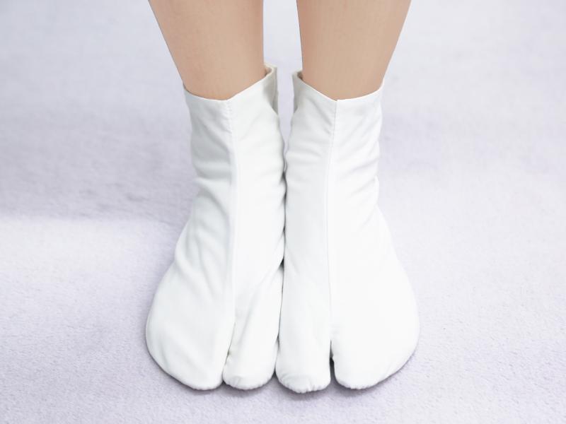 足袋の履き方_完成