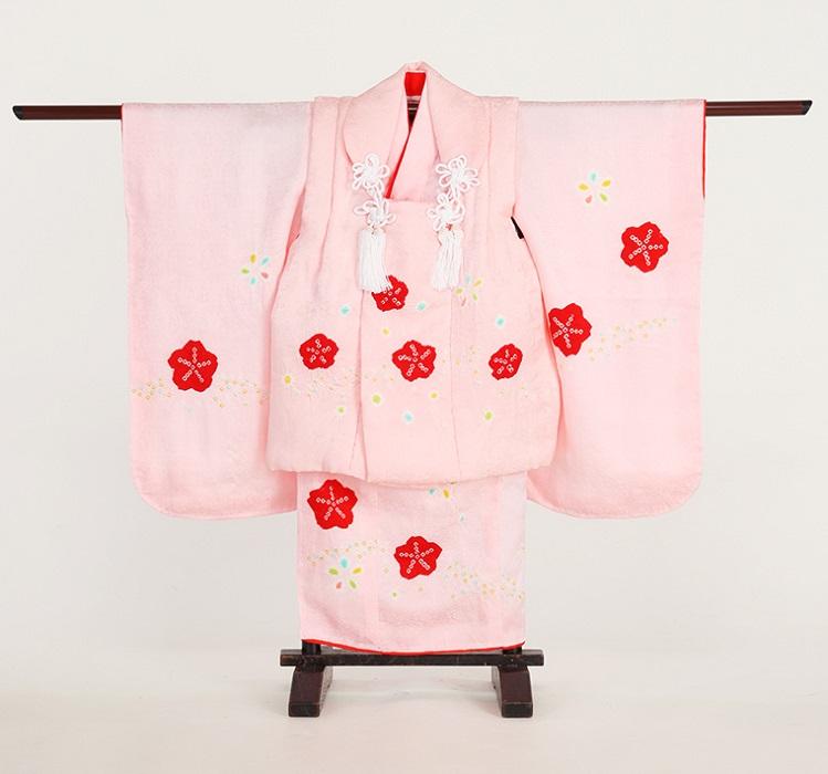 七五三3歳_人気カラー:ピンク色