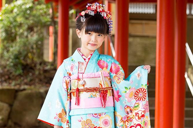 2019年の七五三 7歳の女の子に人気の着物の色は?