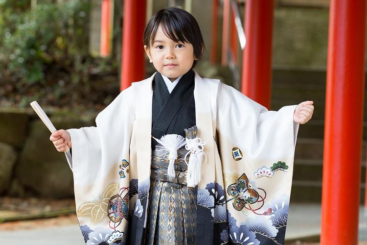 2019年の七五三 5歳の男の子に人気の着物の色は?