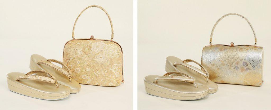 礼装用バッグと草履のセット02