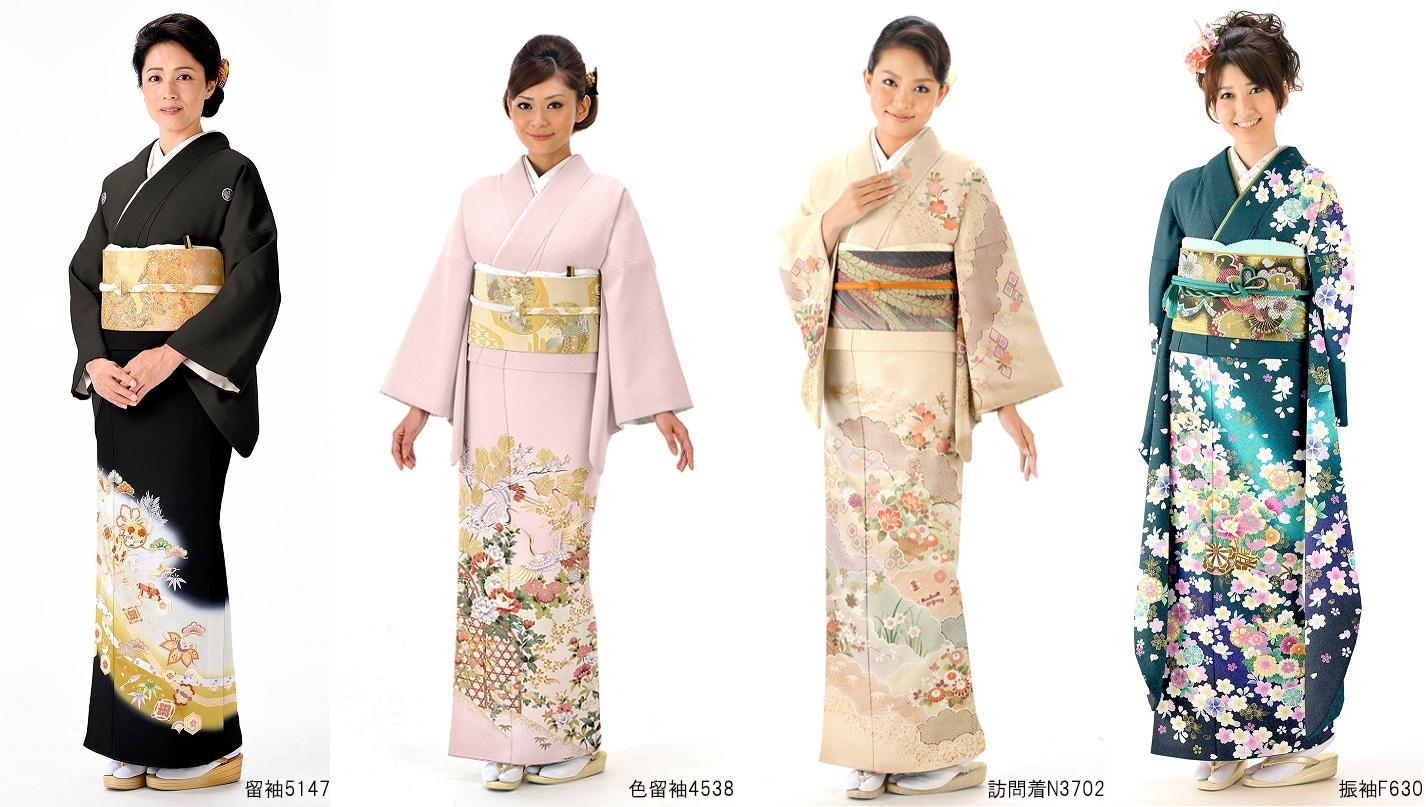 結婚式で着られる和装の種類