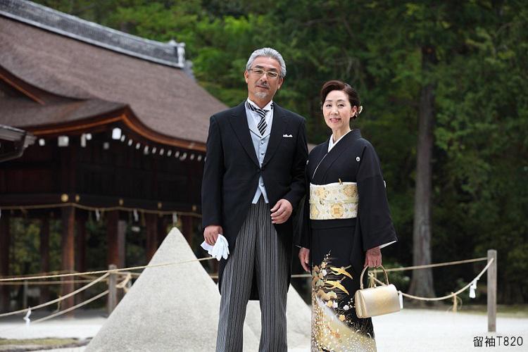 黒留袖の着用マナー基礎知識 結婚式で黒留袖を着る場合