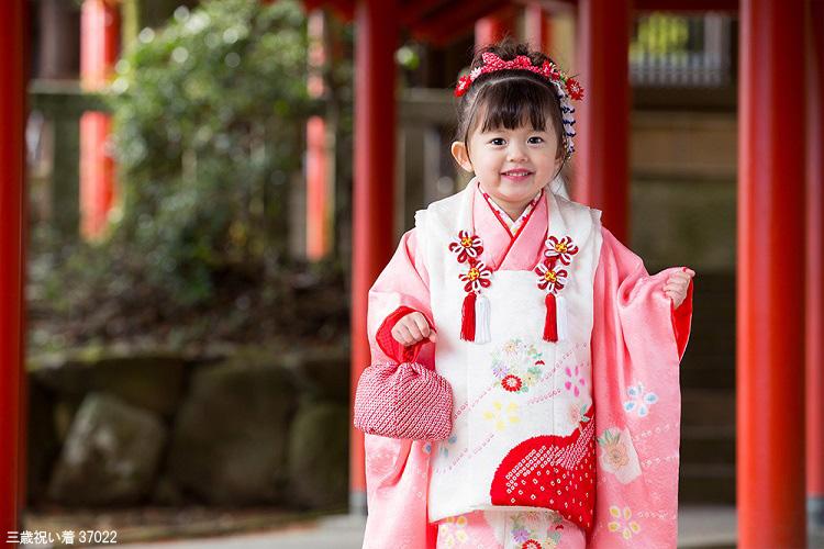 2020年の七五三 3歳の女の子に人気の着物の色は?