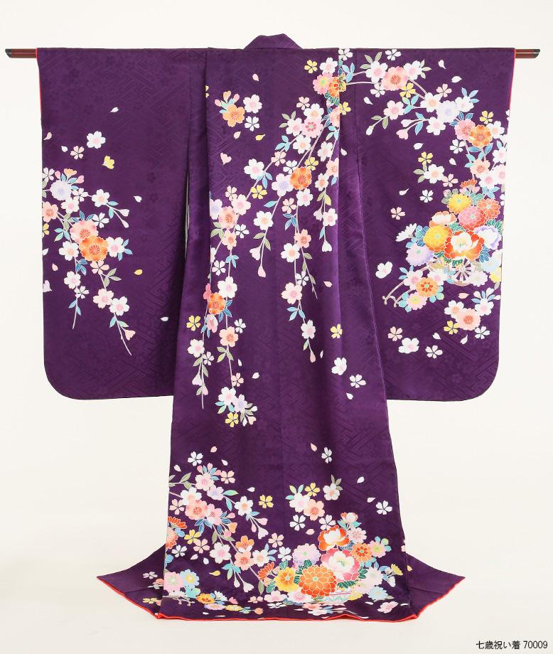 7歳衣装人気カラー:紫色