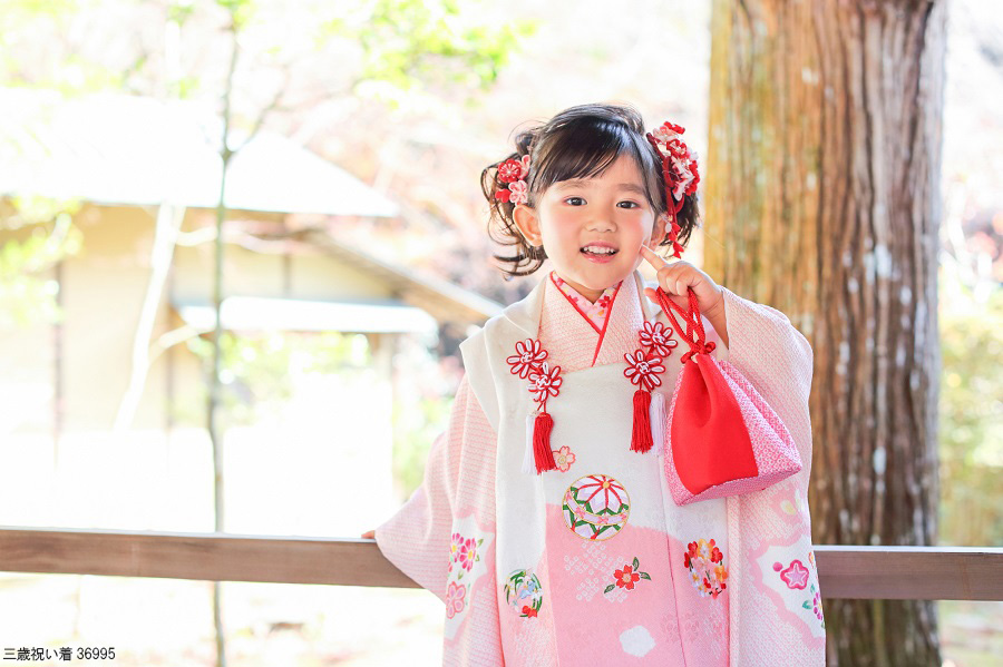 七五三の着物_女の子3歳