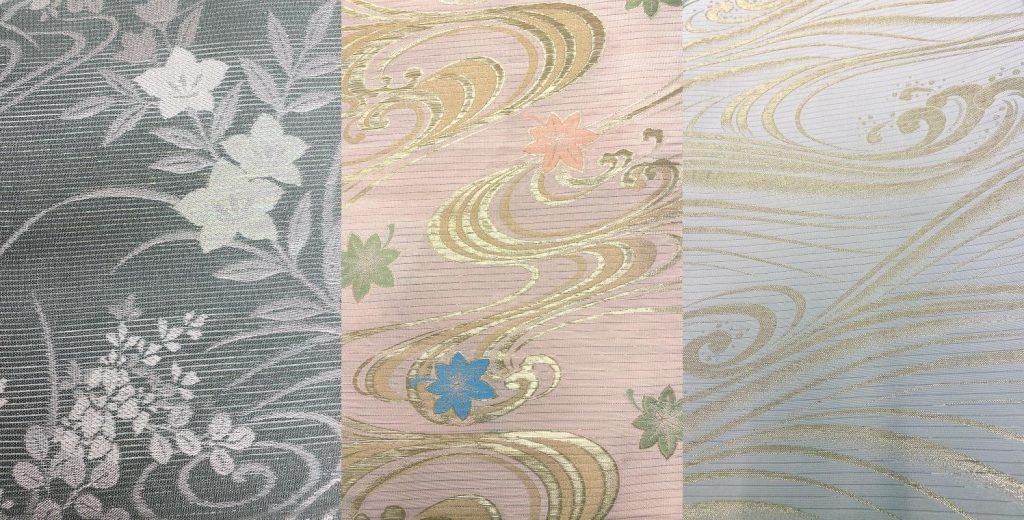 流水紋の帯